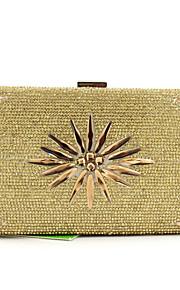 Золотистый / Серебристый-Вечерняя сумочка-Для женщин-Полиэстер-Минодьер