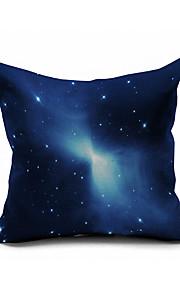 Starry Sky Cotton/Linen Pillow Cover Nature Modern/Contemporary Pillow Linen Cushion