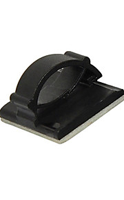 ziqiao multifunktionel selvklæbende billadekabel hovedtelefon / usb kabelklemmer organisator (8pcs)