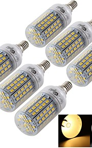 Ampoules Maïs LED Décorative Blanc Chaud / Blanc Froid YouOKLight® 6 pièces T E14 / E26/E27 6W 96 SMD 5730 420 lm AC 100-240 / AC 110-130