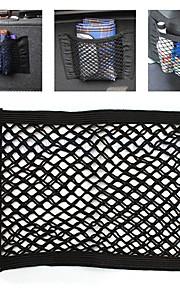 ziqiao universal bil ryglænet opbevaring elastisk mesh net pose bagage holder lomme sticker stærke magi tape tilbehør