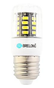 Ampoules Maïs LED Blanc Chaud / Blanc Froid 1 pièce T E26/E27 6W 30 SMD 600 lm AC 100-240 V