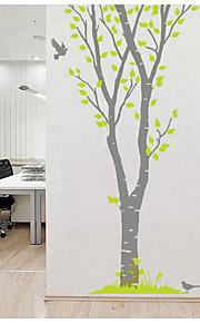 Dyr / Botanisk / Landskab Wall Stickers Fly vægklistermærker,pvc 150*223cm