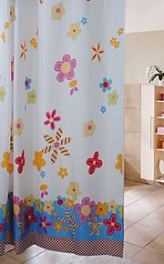 Duschdraperi-Barock-Poly / Cotton Blend-180x200cm