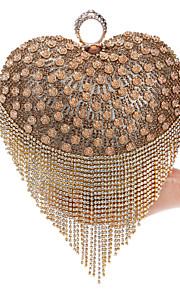 Золотистый / Серебристый / Черный-Вечерняя сумочка-Для женщин-Металл-Минодьер