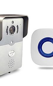 besetey®indoor bell en slimme wifi video deurbel HD720p full duplex audio max 5 gebruiker gebruik wifi deurbel voor de telefoon pad pc