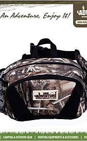 4 L Bolsa de cinturón Acampada y Senderismo Al Aire Libre Impermeable / A prueba de lluvia / Listo para vestir / Multifuncional Camuflaje
