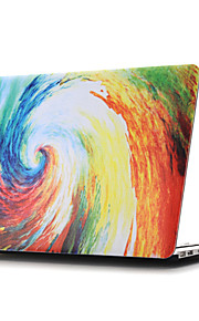 coquille plate dessin ~ 8 de style coloré pour macbook air 11 '' / 13 ''