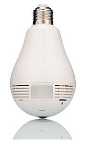 960p HD fotocamera monitoraggio domiciliare lampadina IP WiFi con la lampada principale Fisheye panoramica