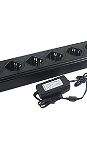 6-unit een handig bank lader + adapter voor Baofeng uv82 bfuv8 bfuv89 lader
