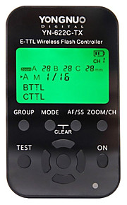 yongnuo® yn-622c-tx E-TTL draadloze flitser controller flsha trigger voor canon