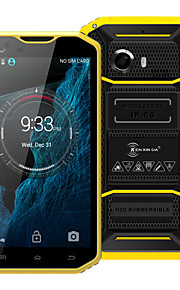 "Kenxinda PROOFINGS W8 5.5 "" Android 5.1 4G Smartphone (Dual SIM Octa Core 8 MP 2GB + 16 GB Grey / Yellow)"