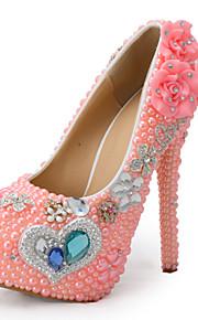 Chaussures de mariage-Rose-Mariage / Habillé / Soirée & Evénement-Talons-Talons-Homme
