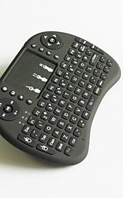 scoiattoli v8 batteria al litio volanti 2,4 g tastiera touchpad wireless mini tastiera senza fili