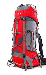 85 L mochila Acampada y Senderismo / Escalar / Deportes de ocio / Viaje Al Aire LibreImpermeable / Secado Rápido / A prueba de lluvia / A
