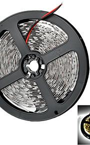 Marsing 50w 4000lm 300 * smd 5050 førte kjølig hvitt lys fleksibel stripe m / forsterker (12v / 5m)