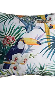Polyester Housse de coussin,Imprimé animal / Vacances / Nouveauté Moderne/Contemporain / Rustique / Casual / Extérieur