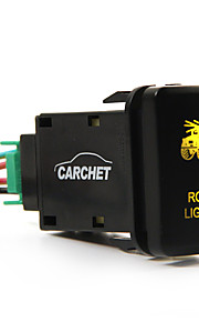 carchettoyota duw switch laser backlit daklichten oranje led licht aan-uit schakelaar