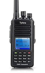 TYT MD-390 UHF Walkie-talkie 5W 2800mAh 400-470MHz 2800mAh 3km-5kmFM-radio / Noodgevallen Alarm / Programmeerbaar via pc-software /