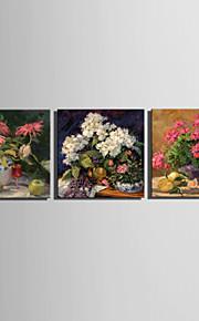 mini e-home oljemaleri moderne blomster på bordet ren hånd trekke rammeløs dekormaling