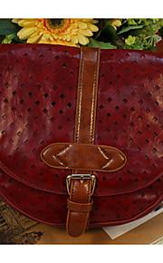 GG  Retro Shoulder Messenger Buns Shoulder Bag Cross Body Bag PU Satchel