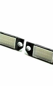 2pcs coche 2004-2008 año f-ord m-k c-max llevó la luz de placa 14w llevado 3528smd con decodificador llevada especial