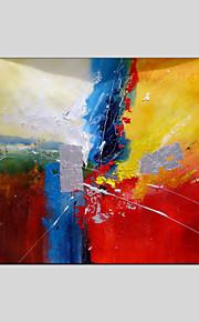 abstrakte stilen lerret materielle oljemalerier med strukket ramme klar til å henge størrelse 90 * 60 cm