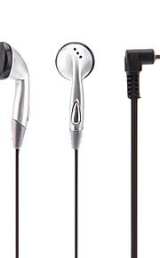 på øre høretelefon for iPod/iPad/iPhone/MP3 (svart)