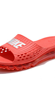 NIKE Men's Shoes Casual Rubber Sandals Air Cushion ComfortableRed