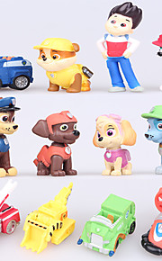 Lasten koiranpentuja hahmot patrulla canina leluja pentu partio lapsille poika lahja Brinquedos canina