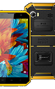 "Kenxinda PROOFINGS W9 6.0 "" Android 5.1 4G Smartphone (Dual SIM Octa Core 1.3 MP 2GB + 16 GB Grey / Yellow)"