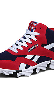 Men's Walking Shoes Synthetic / Black / Blue / Red