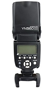 yongnuo® yn 560 iii flash speedlight 2,4 GHz trådløs trigger speedlite flash kit lcd til Nikon kanon
