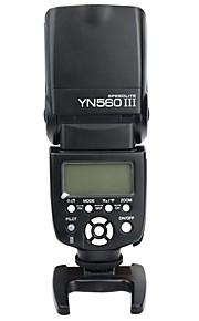 yongnuo® yn 560 iii Speedlight 2.4ghz innesco speedlite kit flash wireless a cristalli liquidi per Nikon Canon