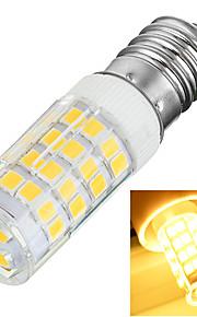 Ampoules Maïs LED Décorative Blanc Chaud / Blanc Froid Marsing 1 pièce T E14 5W 51 SMD 2835 400-500 lm AC 100-240 V
