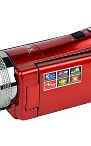 """ordro® dv-108 digitalt videokamera 720p 2.7 """"TFT-LCD skærm CMOS sensor ansigtsgenkendelse anti-shake"""