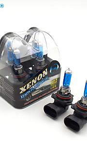 HM® xenón de plasma 9012 bombillas de la lámpara 12v 55w halógeno faro de luz blanca (un par)