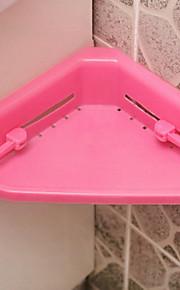 plástico de almacenamiento de baño estante de almacenamiento estantería colgante triángulo lechón