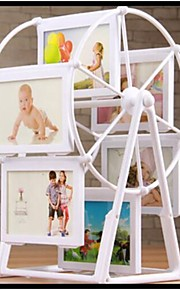 White Photo Frame Picture Frames Ferris Wheel Windmill Shape Home Decor New Gift