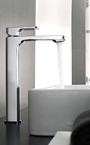 洗面ボウル シングルハンドルつの穴 in クロム バスルームのシンクの蛇口