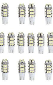T10 W5W 168 194 A su vez blanco luz de señal 28 SMD llevó la luz (dc12v, 20 piezas)