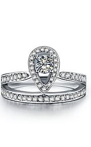 S925 Königskrone Design 0.25ct Sterlingsilber sona Diamant-Hochzeit Schmuck Platin Verlobungsring überzog Brautgeschenk