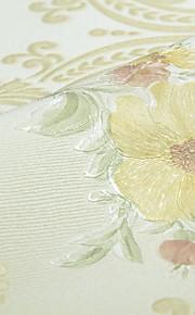 fond d'écran Fleur Papier peint Contemporain Revêtement,Intissé Oui