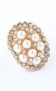 Alliances Femme Imitation de perle / Stras Alliage Alliage