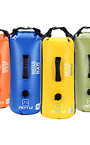 30L L Bolso seco impermeable Acampada y Senderismo / Escalar / Carrera Al Aire Libre Impermeable Amarillo / Azul / Naranja / Verde Militar
