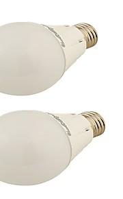5W E26/E27 Круглые LED лампы G45 24 SMD 2835 450 lm Тёплый белый Декоративная AC 220-240 / AC 110-130 V 2 шт.