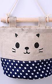 תיק אחסון Cute / מדפסות משולבות,טקסטיל