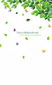 애니멀 / 보태니컬 / 카툰 / 정물화 / 패션 / 플로럴 / 레져 벽 스티커 플레인 월스티커,PVC 90*60*0.1
