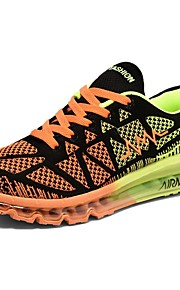 Men's Shoes Tulle Athletic Shoes Running Lace-up Blue / Orange