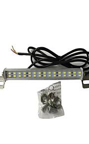 1stk 7,5 W DC12V 700lm redwhite / hvid, høj effekt høj lysstyrke agterover bremsning ekstra lampe til bil